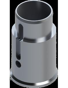 External aluminium body structure (front part).