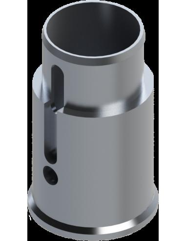 Cuerpo de la herramienta en aluminio (parte frontal). POT-40 y POT-VA. Para máquinas Zünd Zund Zuend
