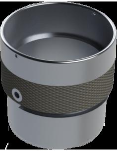 Ø 40 Aluminium teflon gilding disc holder.