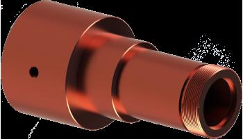 Copper oscillating guide holder.