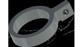 Assymetric oscilating strap holder.