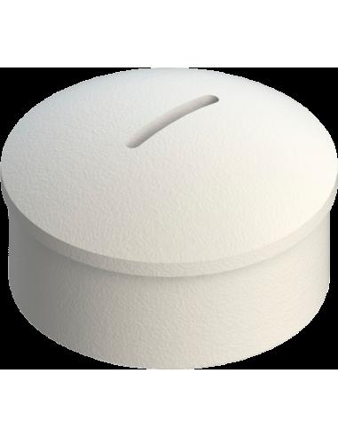 Disco de teflón para el deslizamiento de la herramienta Ø 40 mm. Fija tangencial. Para máquinas Zünd Zund Zuend