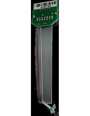 Tarjeta electrónica del motor-T con sensor. Para máquinas Zünd Zund Zuend