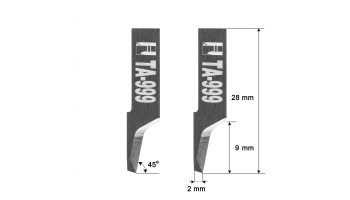 Atom blade knife 01039999 0103C999 0103D999 HTA-999 HTA999 zund zünd