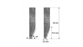 Cuchilla HTI-115 HTI115 Zund Zünd Atom Comelz