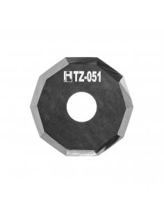 Cuchilla Zund Z51 Zünd Z-51 HTZ-051 HTZ51 decagonal