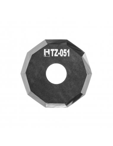 Cuchilla Zund Z51 3910336 Zünd Z-51 HTZ-051 HTZ51 decagonal