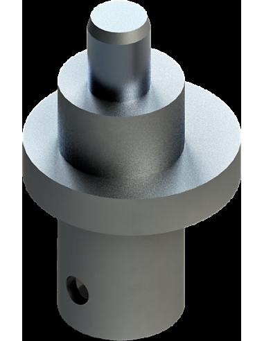 Eje asimétrico que genera la oscilación de 1mm. Para máquinas Zünd Zund Zuend