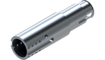External Aluminium Body Structure of the EOT-3 Tool