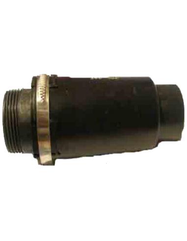 Under pressure valve 180 mbar - vacuum pump.