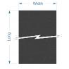 Zund LC-2400 - 1100x2500x2,5 mm / Superficie de corte alta densidad mesa estática