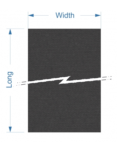 Zund PN M-1600 - 1410x1984x2,5 mm / High density cutting underlay