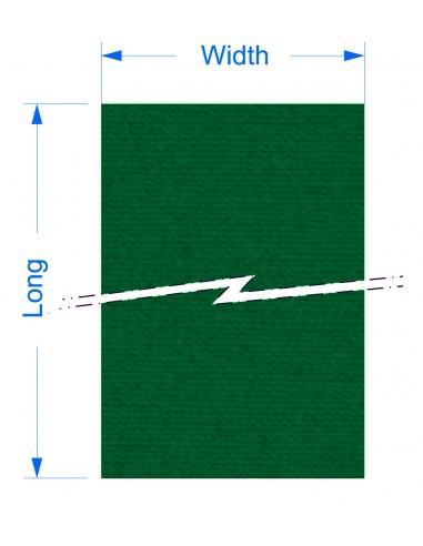 Zund G3 M-2500 - 1410x2883x4 mm / High density cutting underlays for static cutting table.