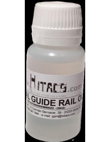 Descripción: Lubricante especial para guías de rail 50 ml. para máquinas de corte automatizado