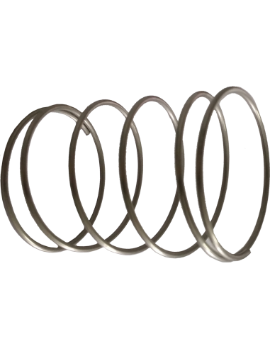 Aluminium Ø 40 teflon gilding disc holder spring. EOT-40. For Zünd Zund Zuend cutting machines