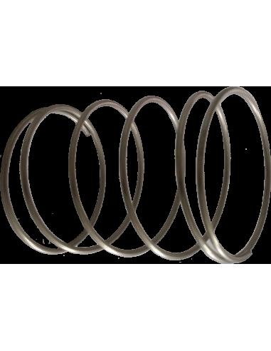Aluminium Ø 40 teflon gilding disc holder spring. EOT-3. For Zünd Zund Zuend cutting machines