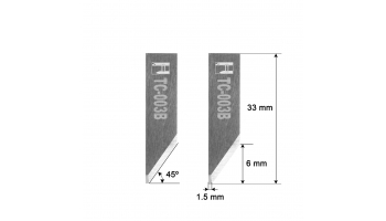 Comelz blade HZ3B 33mm HTC-003B