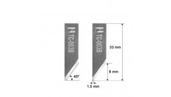 Lame Comelz HZ3B 33mm / HTC-003B / compatible avec la découpeuse automatisée Comelz