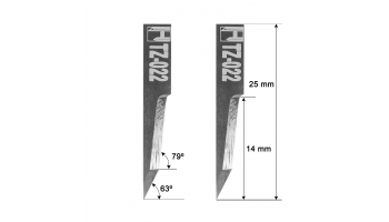 Dyss blade Z22 / 3910315 / HTZ-022 Z-22 Dyss KNIVES KNIFE HTZ22