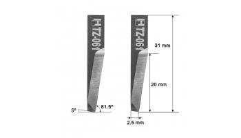Dyss blade Z61 / 5201343 / HTZ-061 Dyss KNIFE KNIVE Z-61 HTZ61