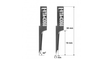 Ibertec blade knife 01043068 HTA-43068 HTA43068 knives Ibertec