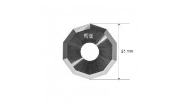 Ibertec blade Z50 / 3912335 / HTZ-050 Ibertec Z-50 HTZ50 decagonal KNIFE KNIVES