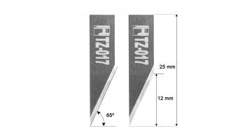 Investronica Blade Z17 3910307 HTZ-017 Investronica knife Z-17 HTZ17