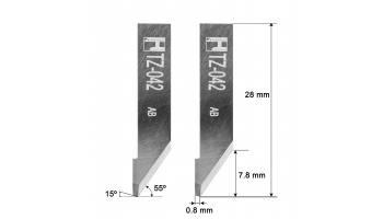 Investronica blade Z42 / 3910324 / HTZ-042 KNIFE KNIVES Investronica Z-42 HTZ42