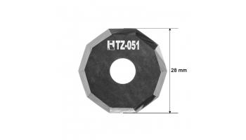 Investronica blade Z51 3910336 Investronica Z-51 HTZ-051 HTZ51 decagonal KNIFE KNIVES