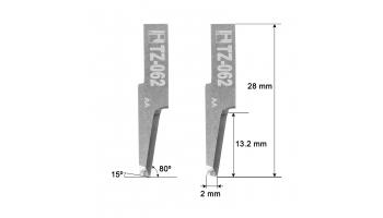 Investronica blade Z62 / 5002488 / HTZ-062S Investronica Z-62 HTZ62S KNIFE KNIVES