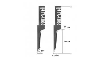 Investronica blade knife 01043068 HTA-43068 HTA43068 knives Investronica