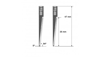 KSM blade Z69 KSM 5204302 Z-69 HTZ-069 HTZ69 KNIFE KNIVES