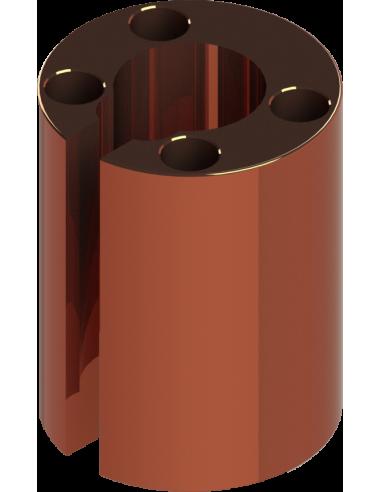 Guide porte-couteau pour hache oscillante. POT-40. Machine de découpe Humantec