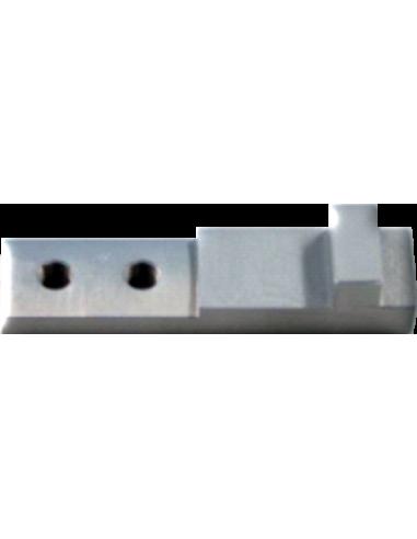 Grande - Pièce d'union entre l'outil et la tête de coupe. POT-40. Machine de découpe Humantec