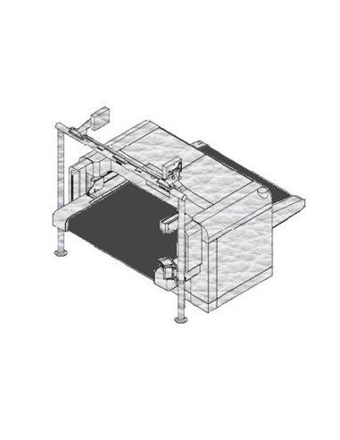 Teseo SIGMA 200FH - 2000x6710x2,5 mm / Bande de coupe de haute densité pour machine conveyor