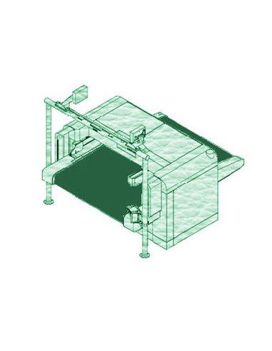Teseo SIGMA 200FH - 2000x67100x4 mm / Bande de coupe de haute densité pour machine conveyor