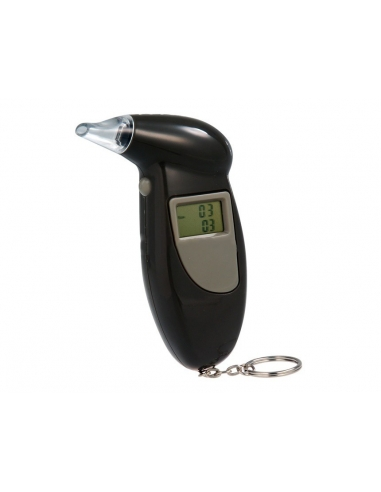 Beak Shaped Digital LCD Display Alcohol Tester with Backlight (Gray)