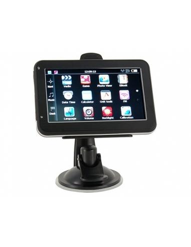 Sistema Multimedia Táctil GPS E-Book