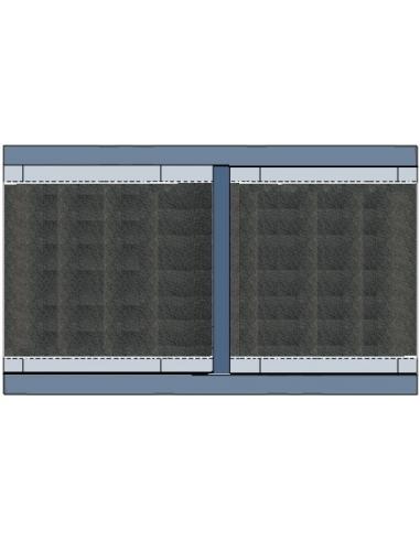 Atom FC FLEX 4015 S - 1600x4100x2,5...