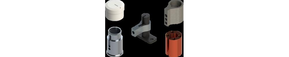 Accesorios repuestos para máquinas de corte Zünd, Atom, Teseo, Comelz.