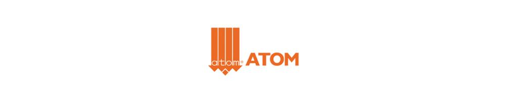 Cuchillas Atom y boquillas Atom. Compatibles para máquinas de corte