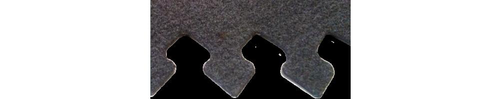 Banda conveyor anti-corte GRIS de 2,5 mm Zünd